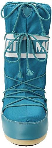 Moon Boot Nylon, Bottes de Neige mixte adulte Turquoise (Turchese)