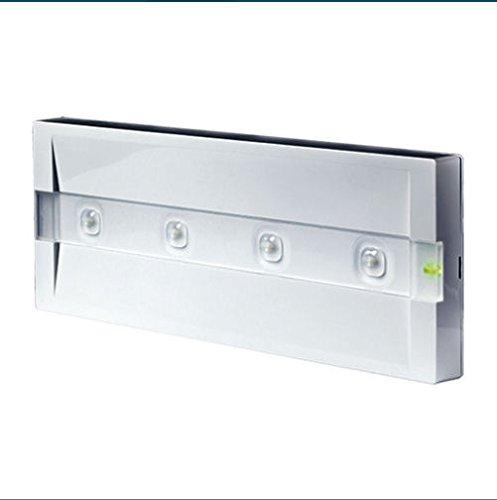 Beghelli BEG824M Plafoniera Emergenza LED, lampada, vetro;policarbonato, acciaio, multicolo