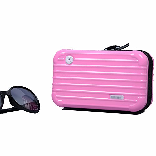Anne Air Wash Bag Kit Reise-Kosmetiktasche Tasche Mini Trunk Wasserdicht PC Handtasche rose