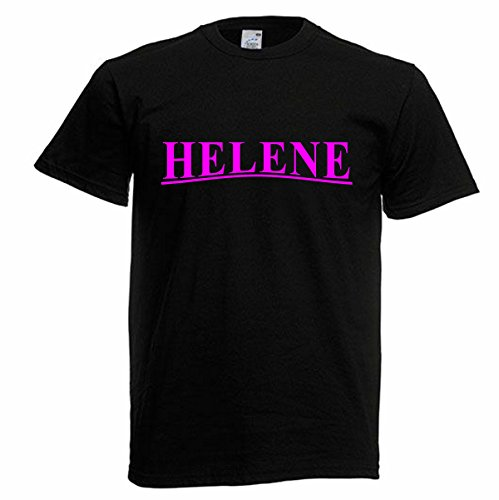 Helene-Motiv130-Herren-Schwarz/Pink-L