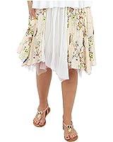 Joe Browns Women's Stunning Summer Gardens Floral Asymmetric Skirt