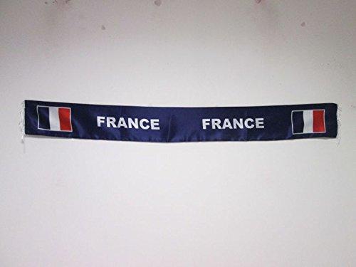 Bufanda de Francia para hinchas – Bufandas de raso francesa 150 cm – AZ FLAG