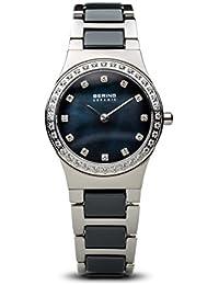 BERING Reloj Analógico para Mujer de Cuarzo con Correa en Acero Inoxidable 32426-707