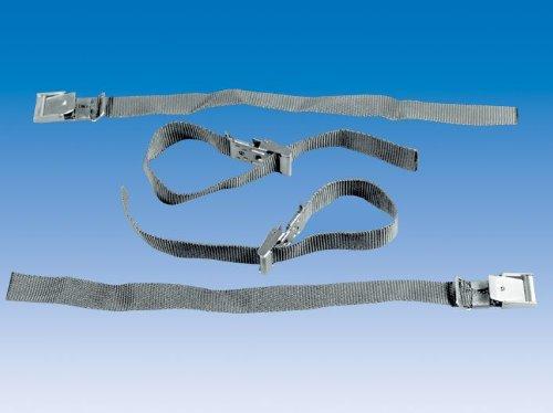 UNITEC 79888 Fahrrad Sicherungsband Textil, 2 Stück