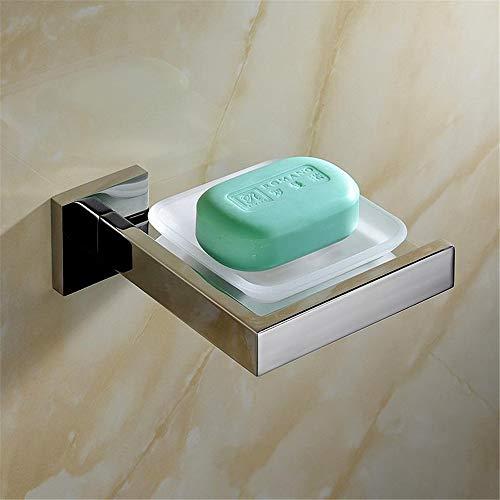 ZYC Edelstahl Silber polnisch Badezimmer Hardware Set Glatte helle Oberfläche Chromstahl Handtuchhalter/Toilettenpapierhalter,4 -