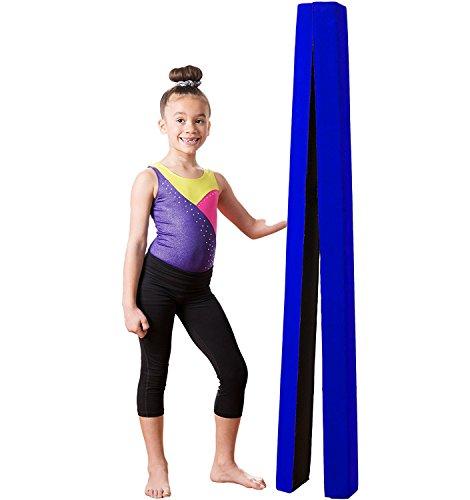Zerone GymnastikBeam, weichen Kunstleder 7FT Folding Schwebebalken Ausbildung für Kinder und Ausbildung nach Hause