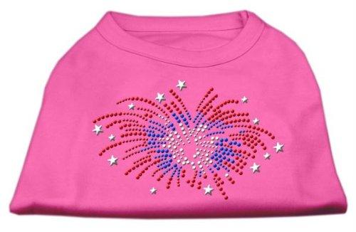 Mirage Fireworks Strass Hunde Shirt -