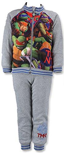 Teenage Mutant Ninja Turtle Jogginganzug (104, Grau)