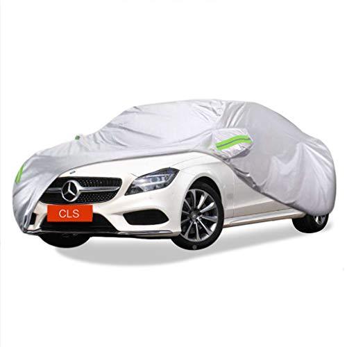 SXET-Cubierta de coche Cubierta del coche Mercedes-Benz CLS Series Protección UV para exteriores especial Four Seasons Universal Lluvia y lluvia Nieve Coche Cubierta de polvo a prueba de viento