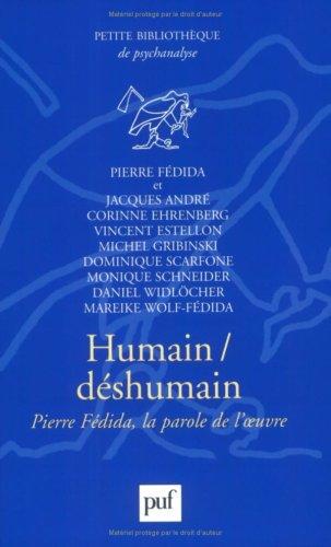Humain/Dshumain