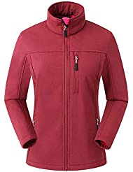 Eono Essentials Women's Softshell Jacket |Windbreaker|Breathable