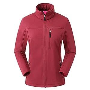 Eono Essentials Damen Softshell Jacke|Winterjacke damen