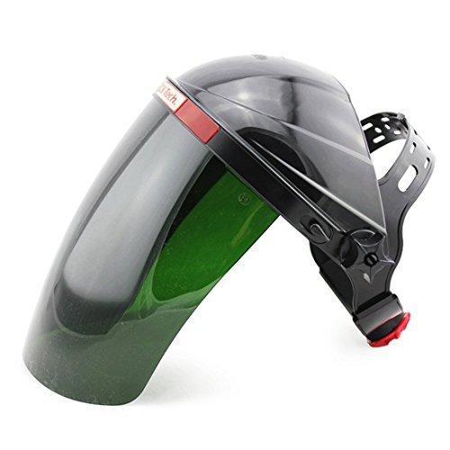Schweißende Gesichtsschutz / Kopfschutz UV-Schutzmaske für MIG MAG CT WIG KR Schweißmaschine und LGK Plasmaschneider (Schaum-visier)