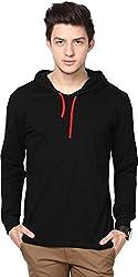 steadman plain solid hood (X-Large, black)