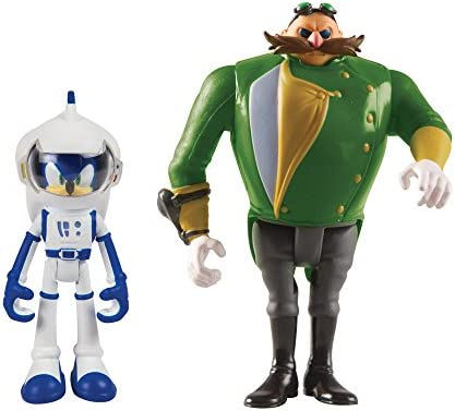 TOMY Sonic Sonic Sonic Boom 2 Figure Lot, Spacesuit Sonic et Parallel Universe Vilain | Stocker  d72616