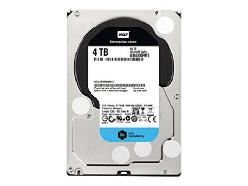 WesternDigital Festplatte 4TB WD4000F9YZ SE Festplatte, 4TB, intern, 3.5', SATA-600, 7200 rpm, Puffer: 64 MB - Sata Puffer