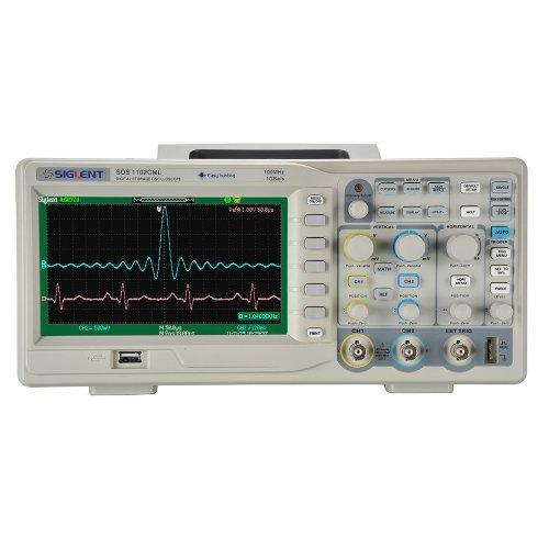 "Preisvergleich Produktbild Siglent SDS1102CML 100MHz Oscilloscope 7"" Scre,Oszilloskope 3 Jahre Garantie !"