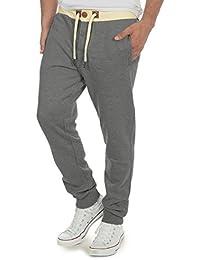 SOLID TripPant Herren Jogginghose Sweatpants Sporthose mit Tunnelzug aus hochwertiger Baumwollmischung Slim Fit Meliert