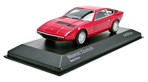 Minichamps 437123224-Maserati-Khamsin-1977-Escala 1/43-Rojo
