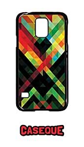 Caseque African Art Back Shell Case Cover for Samsung Galaxy S5
