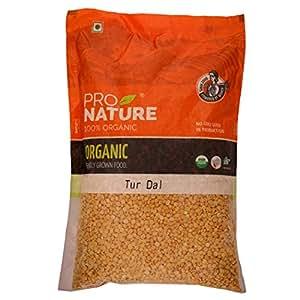 Pro Nature 100% Organic Tur Dal (Unpolished), 2kg