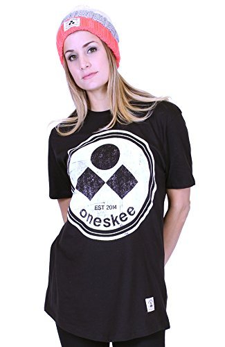 Oneskee Apres - Maglia sportiva -  donna Black 44-46 (M)