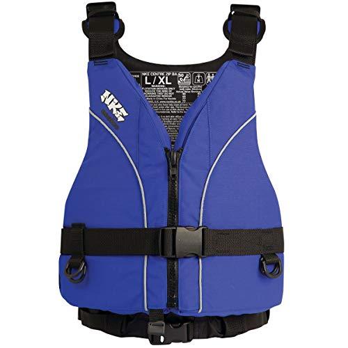41e4EaavjeL. SS500  - Nookie NKE Centre Zip Buoyancy Aid PFD Kayak Dinghy Sailing Canoeing [BLUE L/XL]