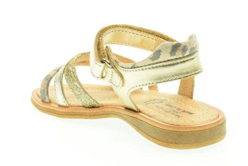 BLACK JARDINS P628630F juniors / 414 sandales (25-29) Oro-Leop