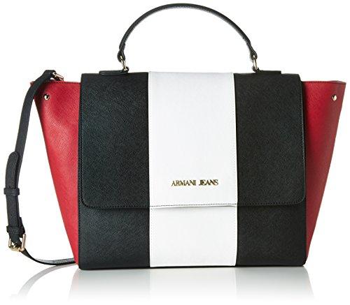 armani-jeans-922562cc857-sacs-portes-main-femme-multicolore-mehrfarbig-nero-bianco-geranio-45420-11x