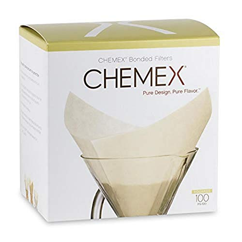 Chemex FS-100 Kaffeepapier, Papier, Weiß