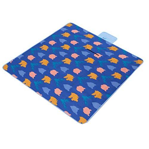e tragbar Outdoor Camping Matte Wasserdicht Plaid Decke Baby Decke Multiplayer Tourist Strand Matte 200 x 200 cm, klein 1 ()