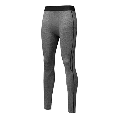 West See Männer Leggings lang Unterhose Unterwäsche Strumpfhose Herrenleggings Hose Trainingshose Base Tights Base Layer