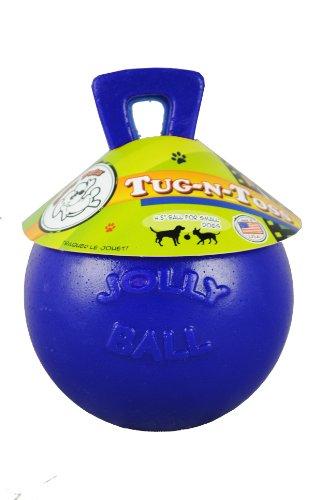 Artikelbild: Jolly Pets JOLL044F Hundespielzeug - Tug-n-Toss, 10 cm, blau