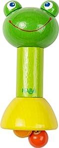 HABA 303936 sonajero - Sonajeros (Multicolor, Beech, 120 mm, 50 g)