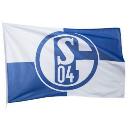 Hissfahne Schalke 04 Karo 150 x 100 cm