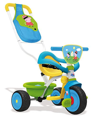 Smoby - 7/740413 - Peppa Pig - Tricycle Be Move Confort