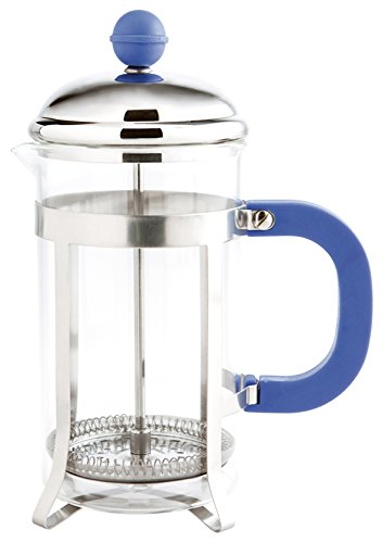 Quid Fiona - Cafetera émbolo, 350 ml, color azul