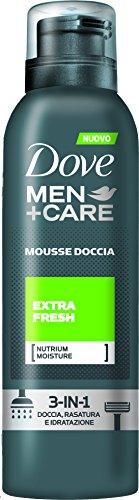 Dove Men+Care Mousse Doccia Extra Fresh, 3 Pezzi