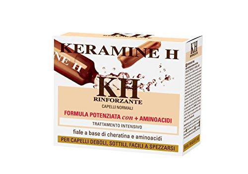 Scheda dettagliata Keramine H - Fiala Rinforzante per capelli Bianca - 10 monodose