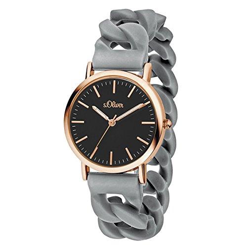 s.Oliver Time Unisex Erwachsene-Armbanduhr SO-3420-PQ