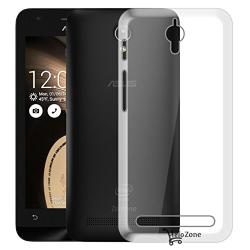 Hello Zone Exclusive Soft Transparent Crystal Clear Back Cover Back Case Cover For Asus Zenfone C-Transparent  available at amazon for Rs.139