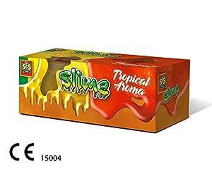 SES Creative Slime-Aroma Tropical 2x120gr, Color Naranja/Rojo (15004)
