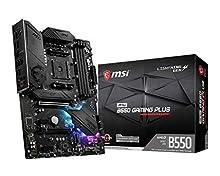 MSI MPG B550 GAMING PLUS Scheda madre ATX, AM4, DDR4, Dual M.2, LAN, USB 3.2 Gen2, Front Type-C, Mystic Light RGB, HDMI, DisplayPort, AMD RYZEN 3000 3a generazione