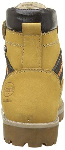 Dockers Unisex-Kinder 37pt702 Stiefel & Stiefeletten Gelb - Jaune (Golden Tan 910)