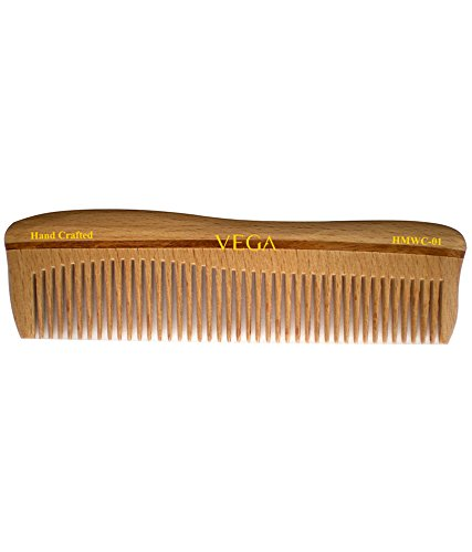 Vega Styling Wooden Comb  available at amazon for Rs.99