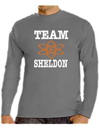 Team Sheldon Langarm T-Shirt S-XXXL div. Farben