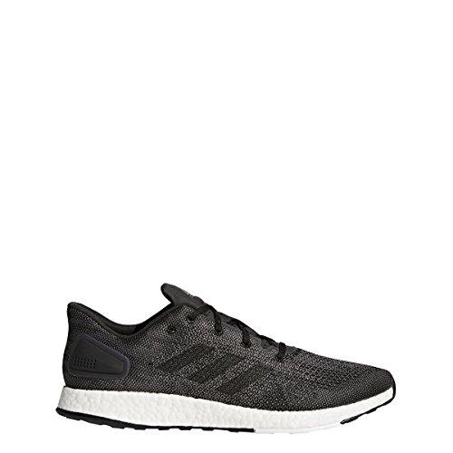 adidas Pureboost DPR Shoe Men's Running 10.5 Dark Grey Solid-White-Core Black
