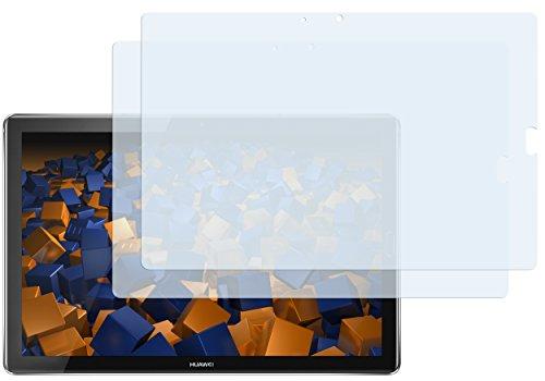 mumbi Schutzfolie kompatibel mit Huawei MediaPad M5 10,8 Zoll / M5 Pro 10,8 Zoll Folie klar, Bildschirmschutzfolie (2x)