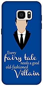 The Racoon Lean Every Fairytale hard plastic printed back case / cover for Samsung Galaxy S7 Edge