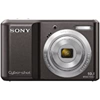 Sony DSCS2000B Cyber-shot Digital Camera - Black (10.1 MP, 3x Optical Zoom) 2.5 inch LCD